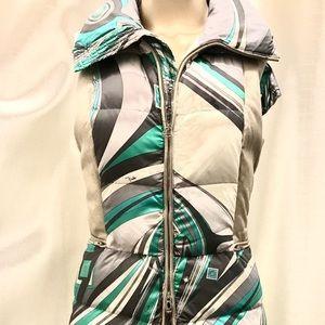 Emilio Pucci Puffer Ski Vest.